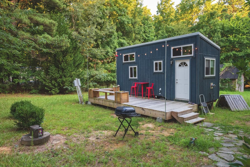 Cool Tiny House Close To Downtown Raleigh Tiny Houses
