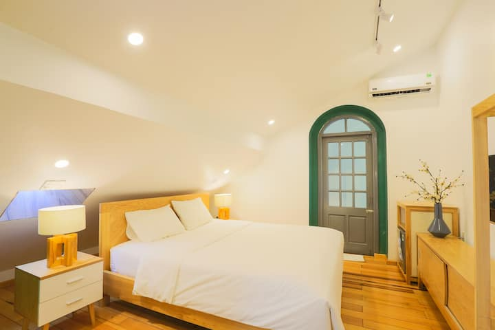 Rooftop room★GreenVilla★Near Beach★Pick up airport