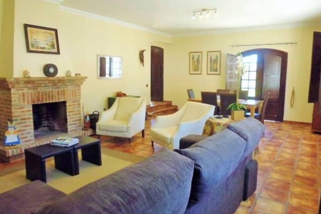 Sala de estar e de janta