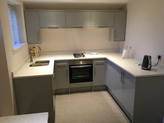 Immaculate one bedroom first floor flat sleeps 3.