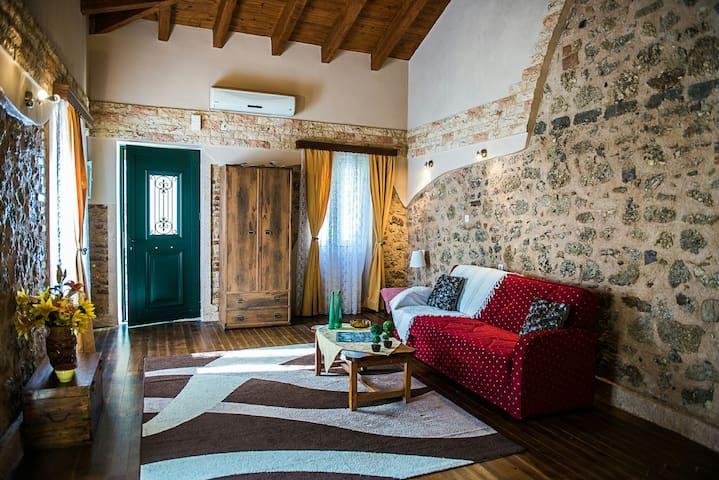 Jason's Stone House - Agios Mattheos - บ้าน