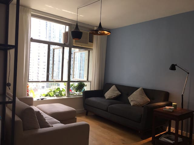 Bright and charming 2BR apartment - Quarry Bay - Byt