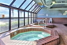 Indoor Pool and Hot Tubs
