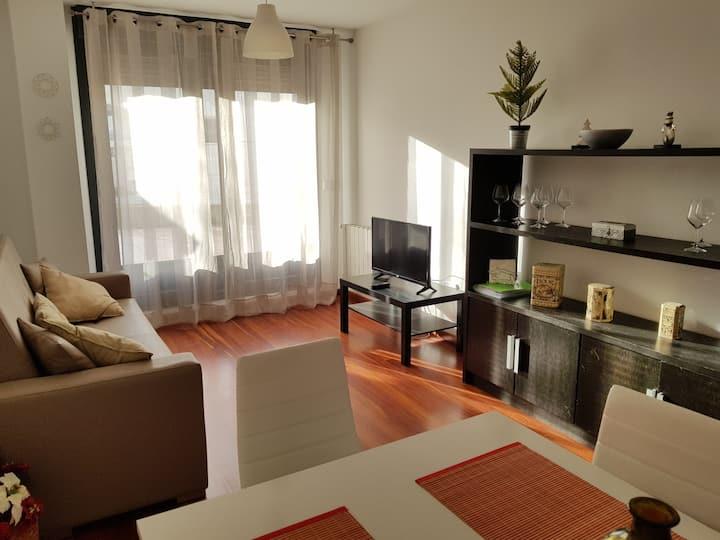 Bonito apartamento con terraza privada en playas