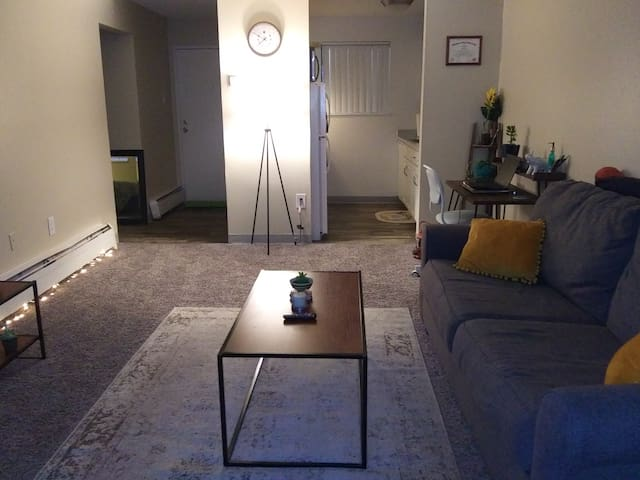 Cute little 600 sq apartment. Awesome location!