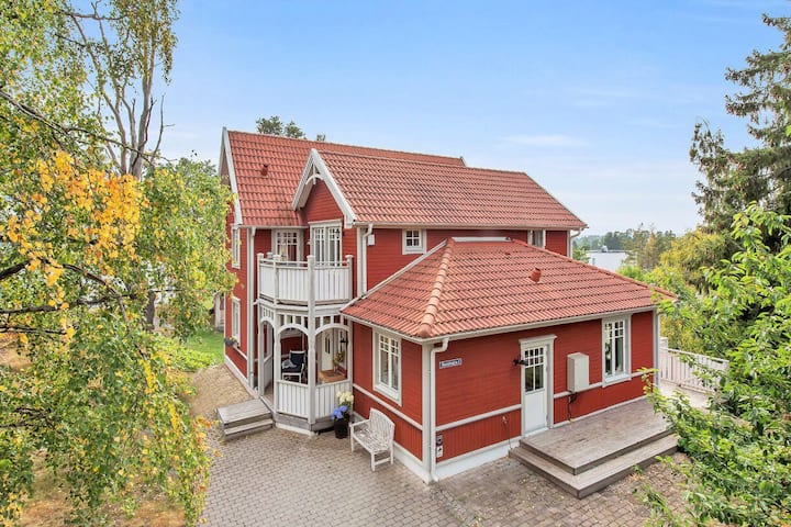 Charming house 150 m from the sea and forest
