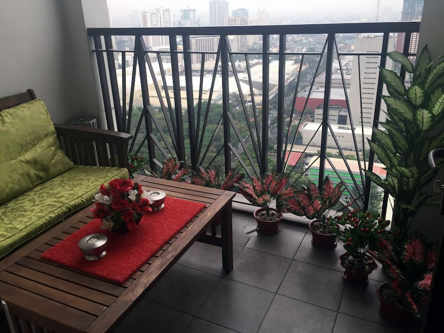 Balcony and mini sky Garden