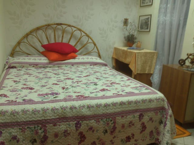 Comfortable room + meals + parking)