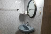 Attached washroom.