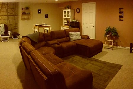 Cozy 2bd Close to everything in SLC - ソルトレイクシティ