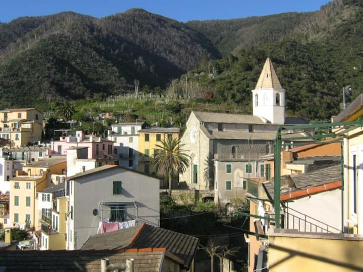 Lovely studio flat in Corniglia centre, 5Terre