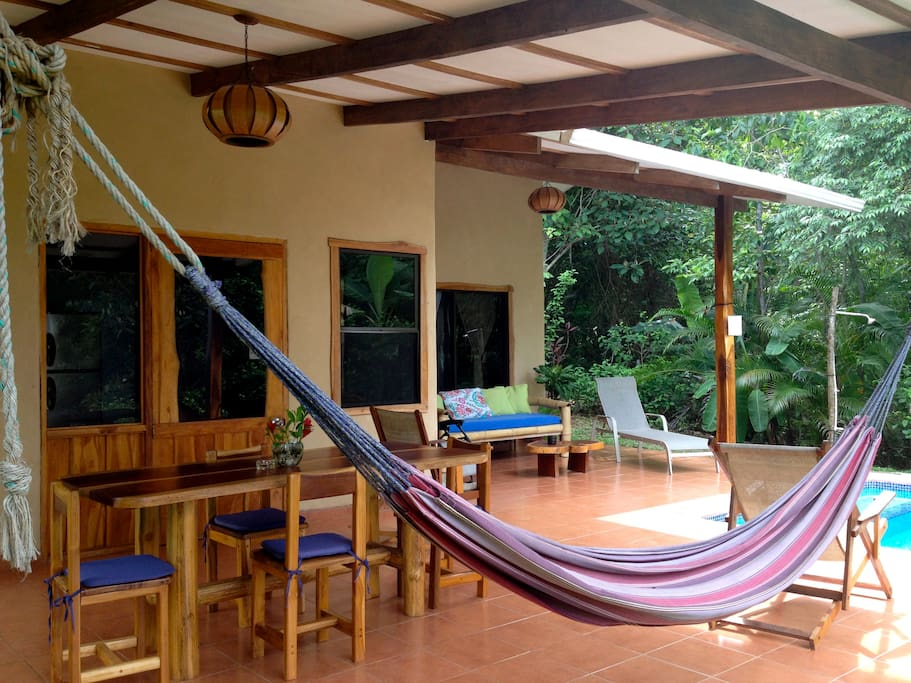 Casa Trogon outdoor living area