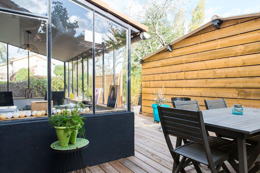 les 5 sens proche de nantes et coeur du vignoble maisons louer haute goulaine pays de la. Black Bedroom Furniture Sets. Home Design Ideas