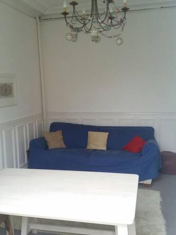 Bel appartement ancien avec jardin - Les Pavillons-sous-Bois - Daire