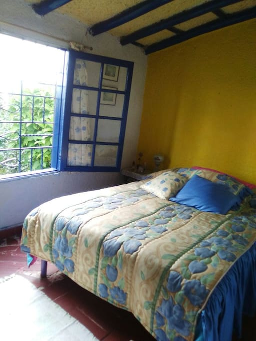 Cuarto principal cama doble - Main room