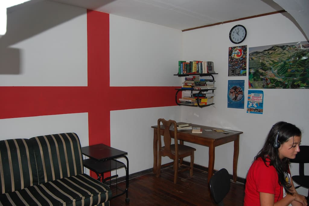 Computer Room English Flag