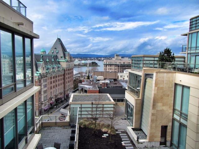 Beautiful Condo - Heart of Downtown - Victoria - Selveierleilighet
