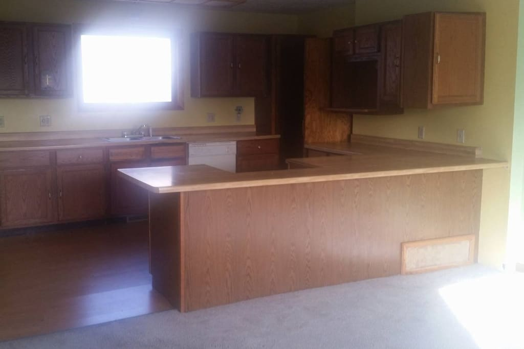 Kitchen before remodeling...