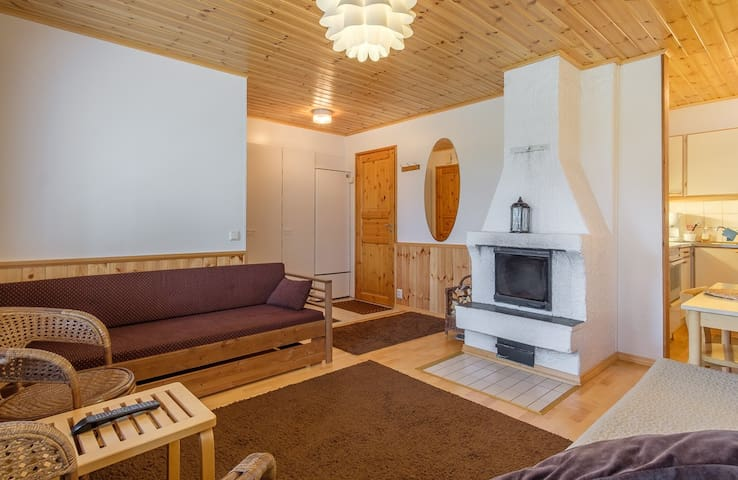 Quiet and traditional place with sauna