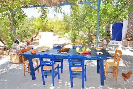 dans la ferme de yiayia Tassoula - Adámas