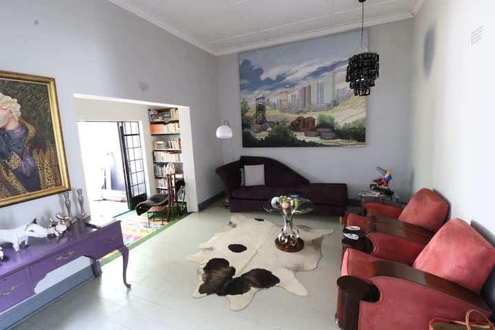 The Cottage at 32 Chiswick Road, Brixton, Joburg.