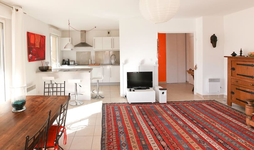 Modern flat with large terrace - Montfavet  - Apartemen