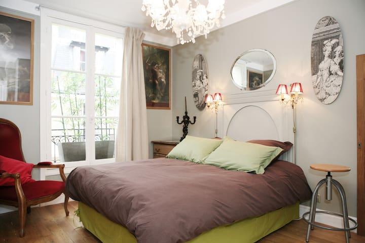 55m2 arty Paris: Montparnasse 6th - Paris - Leilighet