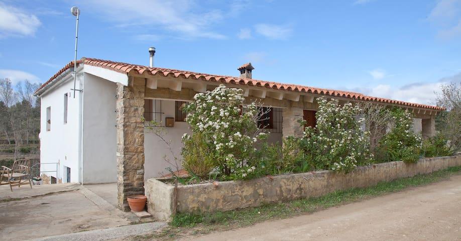 Casa rural Mas del Cubil - Enguera - Huis