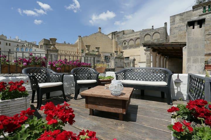 Terrazza in area comune - Communal terrace for guests