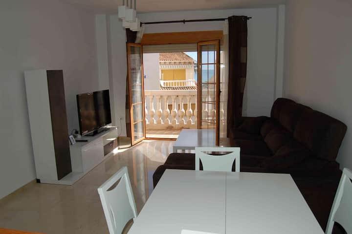 ❤️ Great Beach Apartment, sea views. 3 bedrooms
