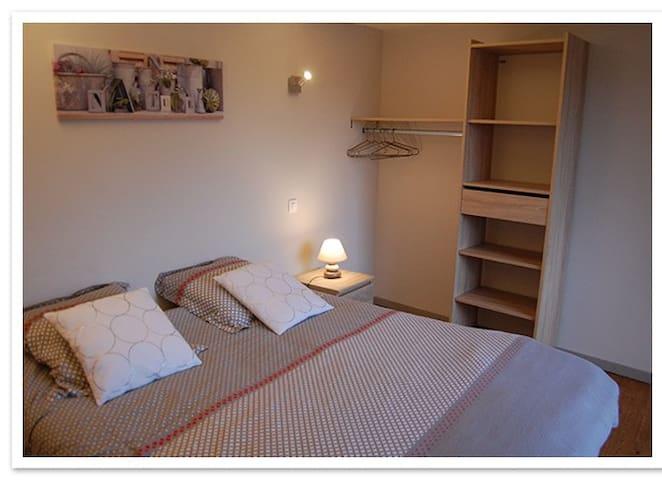 La maison d'Elise  Rennes-le-Château : chambre 1