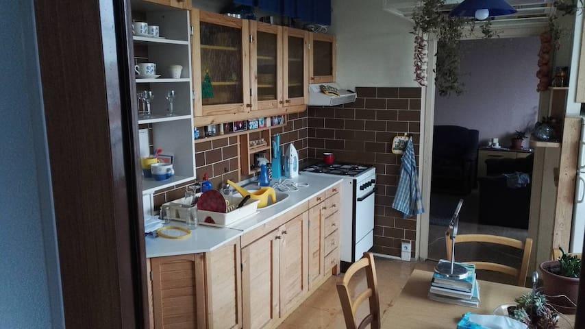 Typický 3 izbový rodinný byt v srdci Tatier - Poprad - Huoneisto