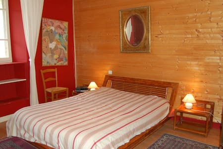 Rooms in Haute-Savoie - Usinens - 家庭式旅館