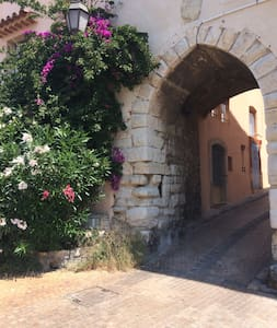Studio de charme dans un beau village médiéval - Le Castellet