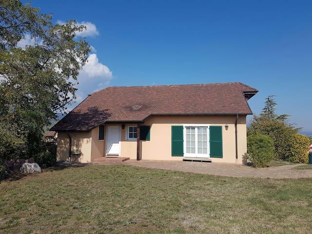 Villa dans les vignes sur la route des vins