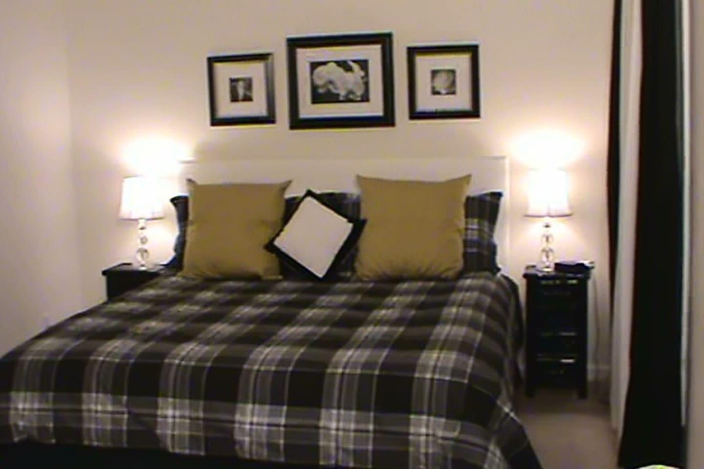 Vista de la cama KING
