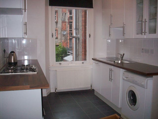 Bright West End Flat - Glasgow - Appartement