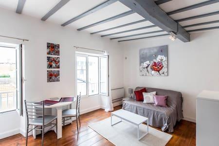 3*** CNTRE BIARRITZ 100M BEACH WIFI - 比亚里茨 - 公寓