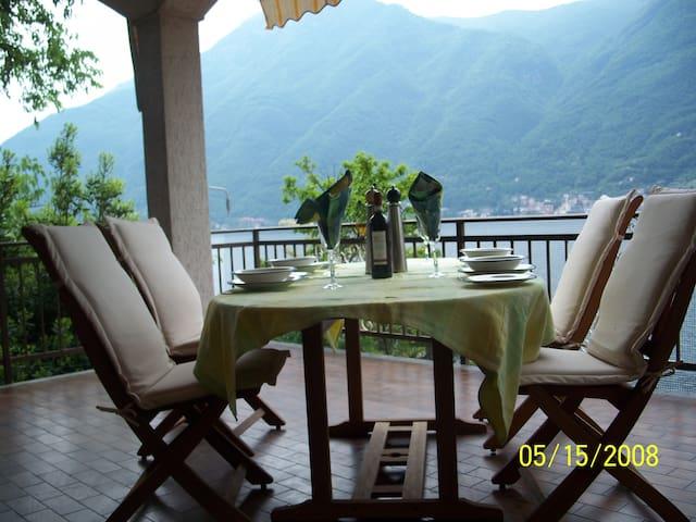Villa Vista Lago Como private call ((PHONE NUMBER HIDDEN) - Nesso - Villa