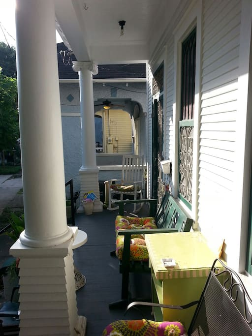 You will love the porch!