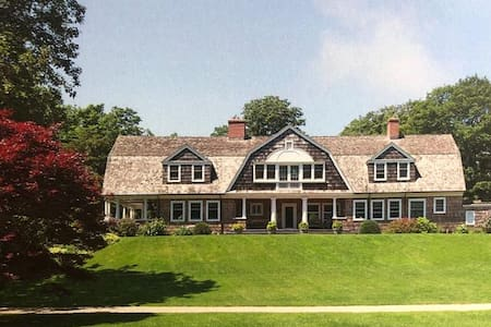 Prime Historic Home with Guesthouse and Tennis Ct.
