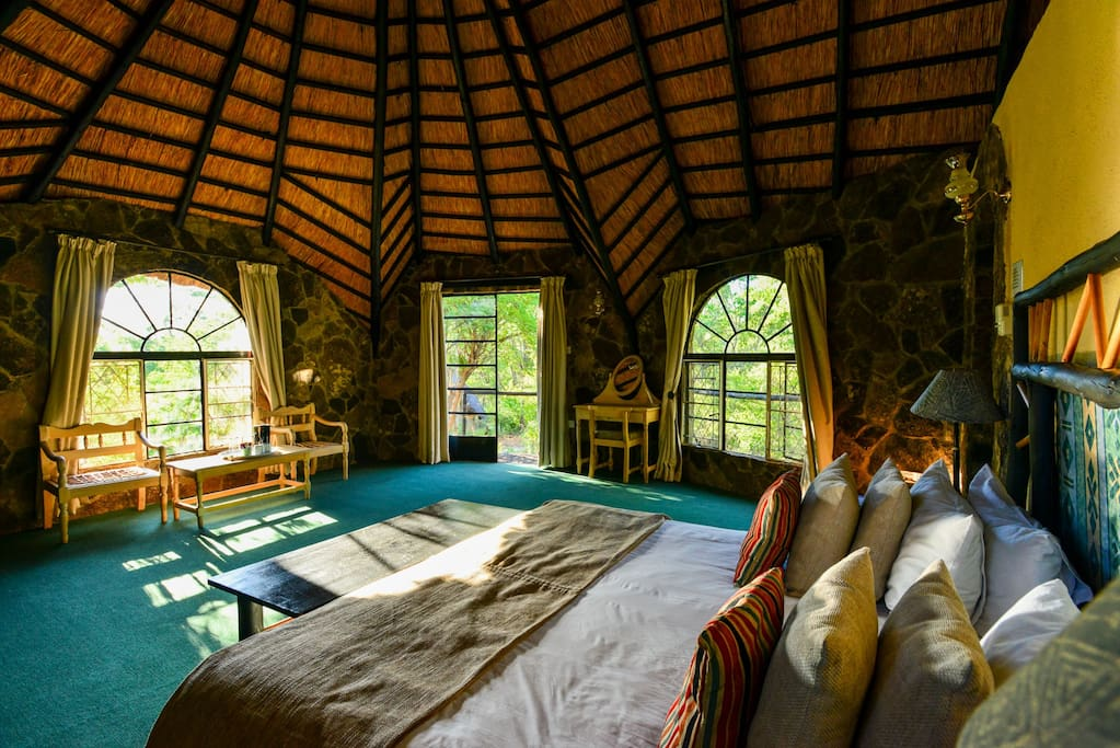Double Room at Matobo Hills Lodge