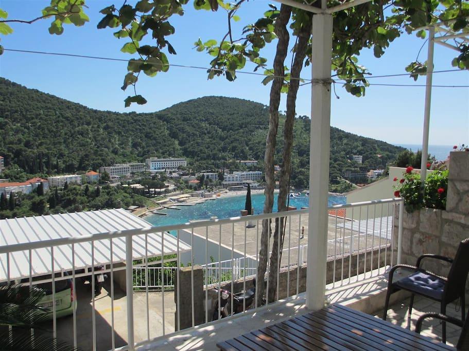 terrace-sea view