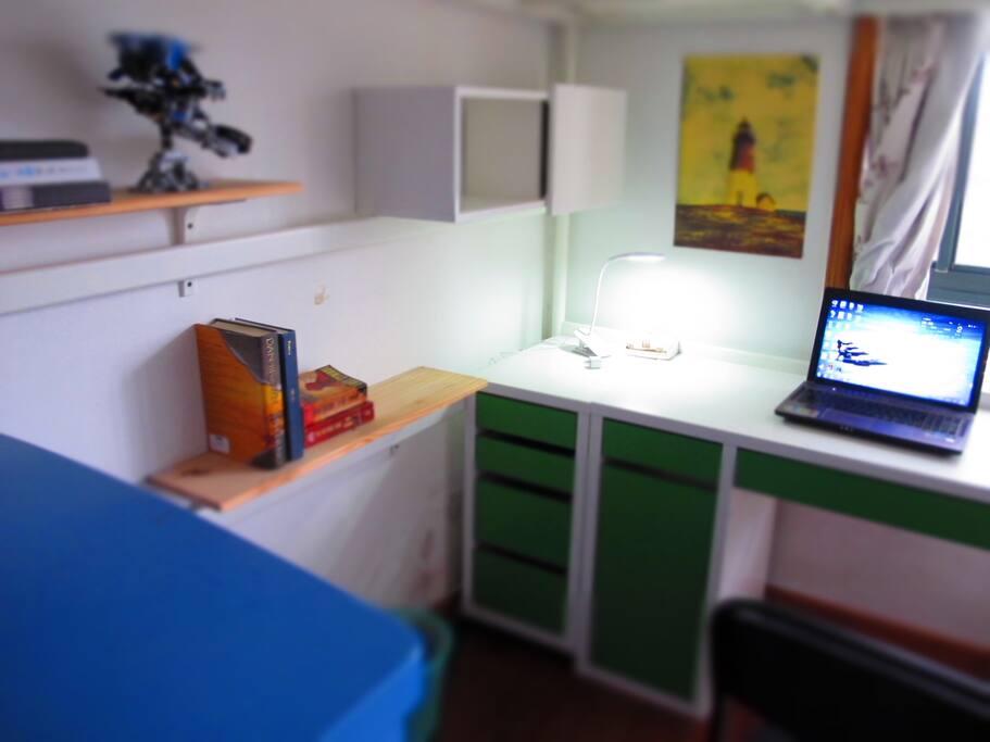 书桌&书架