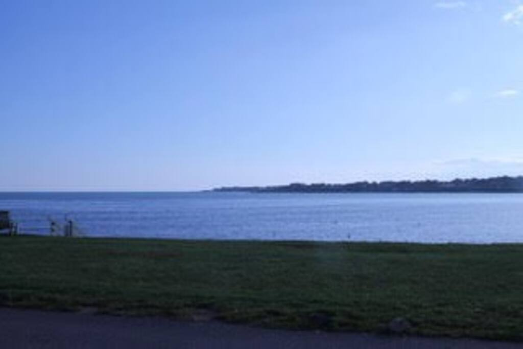 View of the water