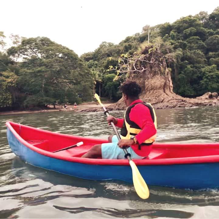 Eddy Kayaking