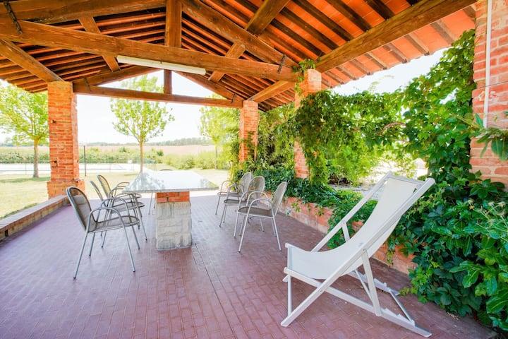 Gezellig appartement in Castiglione del Lago