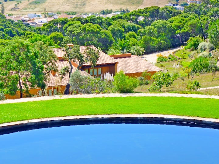 Casa dos Sohos,  surrounded by nature