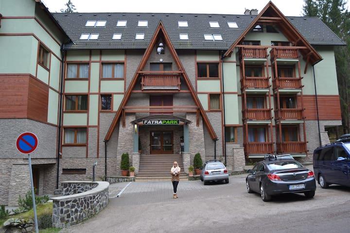Fatrapark Ružomberok - Ruzomberok - Apartment
