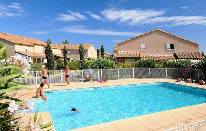Appartement 4 personnes à Vendres plage climatisé